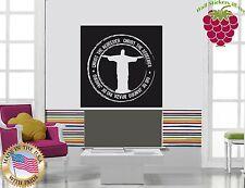 Wall Stickers Vinyl Decal Rio De Janeiro Christ The Redeemer ig922