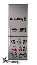 Pegatina vinilo decorativo Nevera Combi Vinyl sticker Hello Kitty Chef Cocina