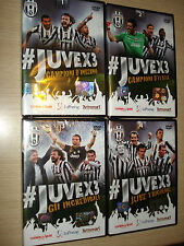 OPERA COMPLETA 4 DVD OFFICIAL FC JUVENTUS CAMPIONE D´ITALIA 2014 JUVEX3 32