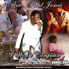 NEW I Won't Complain (Bonus Dvd) (Audio CD)
