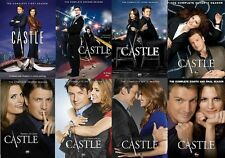 Castle Complete ALL Season 1-8 Series Collection TV Show Episodes DVD Lot Nathan