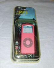 ipod nano 2nd gen Pink Silicone case with Lanyard UK