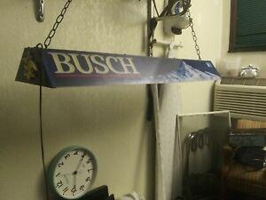 Vintage Busch Pool League Busch Beer Retrofit LED Collectable LED PoolTable Lite