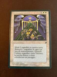 MTG 1-Italian Divine Intervention -NM Legends Edition Magic the Gathering