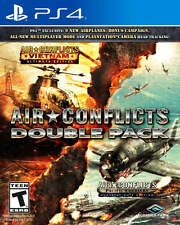 Air Conflicts - Double Pack - PlayStation 4 Brand New Ps4 Games Factory Sealed