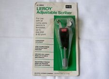 Vintage K+E Keuffel & Esser LEROY 61-0004 Adjustable Scriber Drafting Tool NOS