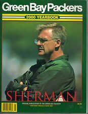 2000 Green Bay Packers Yearbook Mike Sherman on front cover