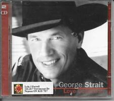 CD-GEORGE STRAIT-LOVE COLLECTION-2 CD SET-FREE SHIPPING IN CANADA