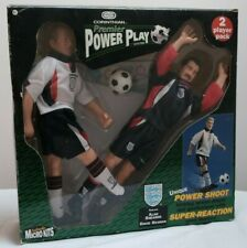 More details for corinthian premier power play football figures england shearer & seaman 1997