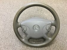 2005 Mercedes Benz E320 Steering Wheel Gray used