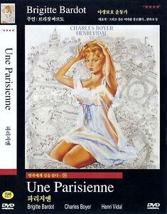 Une parisienne (1957) Charles Boyer / Brigitte Bardot DVD NEW *FAST SHIPPING*