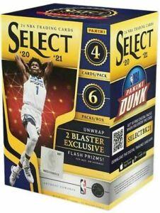 BRAND NEW 2020-2021 Panini NBA Select Basketball Blaster Box Cards IN HAND
