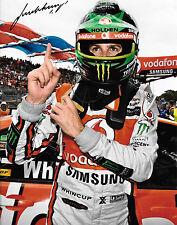 Jamie Whincup SIGNED 12x8 Australian V8 Supercar Champion Portrait