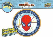 Spider-Man Far From Home Movie GREETINGS FROM ABROAD Trading Card Insert GFA-1