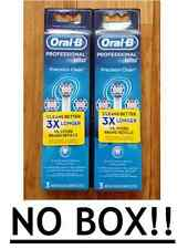 NO BOX  6 ORAL-B Precision Clean Replacement Toothbrush Teeth Tooth Brush Heads
