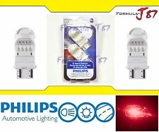 Philips Vision LED Bulb 3157 Rouge Red Turn Signal Tail Side Marker Stop Upgrade