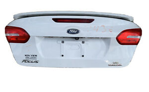 2015, 2016, 2017, 2018 Ford Focus Trunk Lid White. Local Pick Up Only