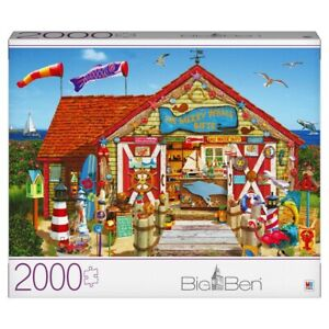 2000 Piece Puzzle Merry Whale Gifts Jigsaw Puzzle Milton Bradley
