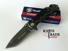 Smith & Wesson--Border Guard Linerlock