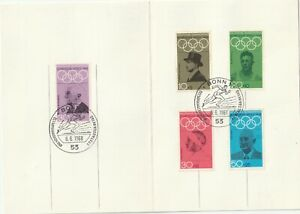 1968 Germany pass Olympic Games