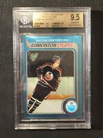1998-99 O-PEE-CHEE OPC CHROME WAYNE GRETZKY BLAST FROM THE PAST BGS 9.5 POP 4 #1