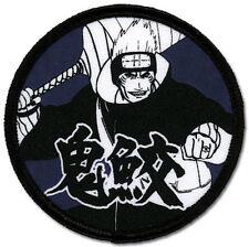 **License** Naruto Shippuden SD Kisame Round Iron On Patch iron/ sew on sealed