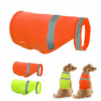 Small Large Dog Safety Vest Reflective High Visibility Pet Puppy Jackets Clothes