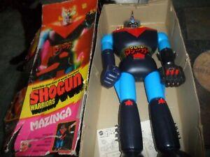 "1976  24"" ROBOT Figure Shogun Warriors Mazinga Mattel Made in Japan Papers & Box"
