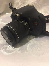 Canon EOS Rebel T3i / EOS 600D 18.0MP DSLR Camera - Black + 18-55mm Lens