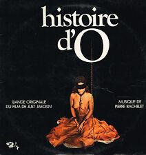 "LP 12"" 30cms: BO du film: histoire d'O: Pierre Bachelet. barclay. F1"