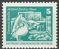 DDR #Mi1947 MNH CV€1.00 1974 Pelican [1610][Coil with Control Number #335]