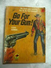 Go for your Gun Cleve Banner Aust Author aka Jim Kent? # Western 361 pb b86