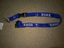 NCAA Duke Blue Devils Breakaway Lanyard Keychain NWT Free Ship