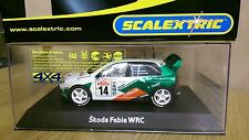 SCALEXTRIC C2487 Skoda Fabia WRC Works 2003 No.14 Factory Sample