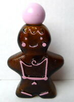 Avon CUTE COOKIE Gingerbread Man Christmas Decor EMPTY Decanter Vintage 1979