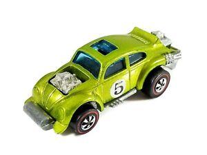 Hot Wheels Redline Evil Weevil (VW Beetle) / 1971 / The Spoilers / Light Green