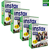 80 PCS Fujifilm INSTAX WIDE Instant film picture for camera 100/200/210/300 BOX