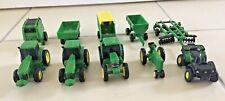 John Deere Tractors & Trailers Set
