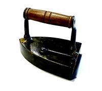 Outil ancien fer à lingot acier et bois 19ème XIXème
