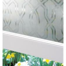 """Artscape Textured 24""""x36"""" CLASSICO Privacy Etched Glass Window Film Static Cling"""