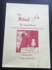 The Northern Musgraves Sherlock Holmes Society 1999 The Ritual Review Autumn
