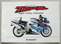 SUZUKI TL1000R MOTORCYCLE Product Info Sales Brochure Dec 1997 #MB8TL1000R-BROCH