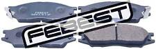 0201-K11F Genuine Febest PAD KIT, DISC BRAKE, FRONT MN102192, 41060-95F0B