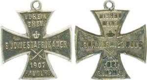 1907 German South West Africa Association Former Südwestafrikaner Cross, Hamburg
