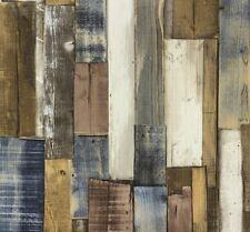 Wallpaper Rasch Kids&Teens wood brown 203707 (1,40£/1qm)