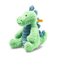 STEIFF® 087813 - Soft Cuddly Friends Spott Stegosaurus Dino Knopf im Ohr 28 cm
