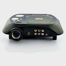 New LED Multimedia Projector with DVD Movie Player 480x320 60 Lumens100:1
