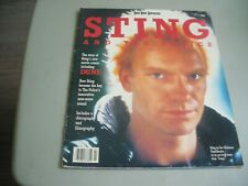 Sting And The Police Feb. 1985 Rock Video Superstars