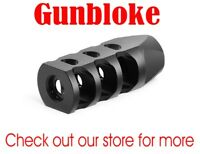 FAT-MAX1 MUZZLE BRAKE Compensator 1/2x28 - bored to suit.