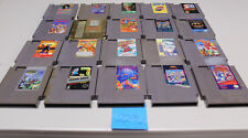 Lot of 20 Original Nintendo Nes Games North & South, Batman Return of Joker